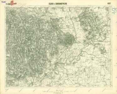 III. vojenské mapování 4667
