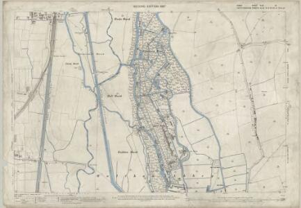 Essex (1st Ed/Rev 1862-96) XLIX.14 (includes: Cheshunt; Waltham Holy Cross) - 25 Inch Map