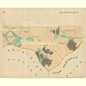 Piesling - m2287-1-011 - Kaiserpflichtexemplar der Landkarten des stabilen Katasters