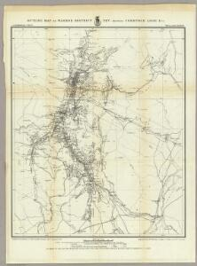Outline Map Of Washoe District Nev. Showing Comstock Lode Etc.