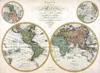 Karte der Erde