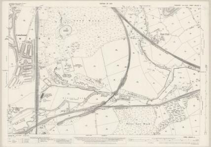 Yorkshire CCLXXV.5 (includes: Barnsley; Cudworth; Darfield) - 25 Inch Map