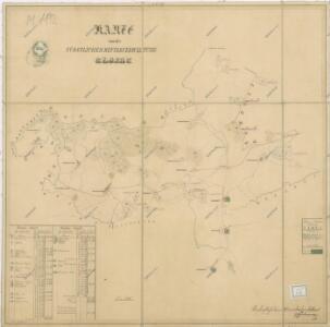Mapa polesí Dlažov