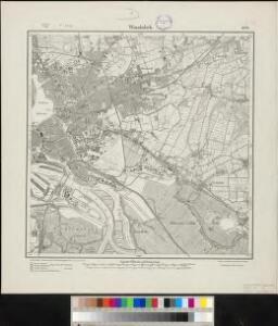 Meßtischblatt 1030 : Wandsbek, 1917