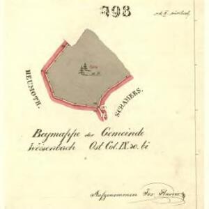 Weisenbach - c0215-2-004 - Kaiserpflichtexemplar der Landkarten des stabilen Katasters