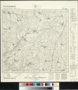 Meßtischblatt 5336 : Knau, 1939