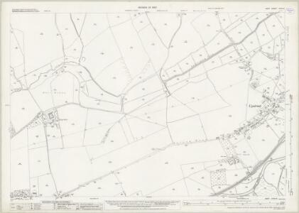 Kent XXXVI.6 (includes: Chislet; Hoath; Westbere) - 25 Inch Map