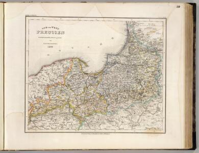 Preussen, Ost- u. West.