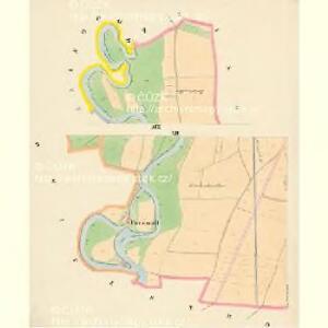 Budweis - c0964-1-012 - Kaiserpflichtexemplar der Landkarten des stabilen Katasters