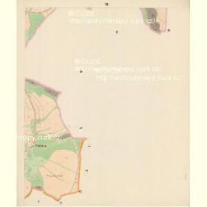 Trzitesch - c6467-2-007 - Kaiserpflichtexemplar der Landkarten des stabilen Katasters