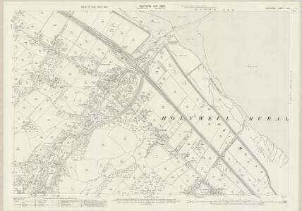 Flintshire VI.6 (includes: Flint; Holywell) - 25 Inch Map