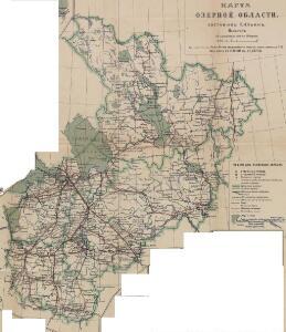 Karta ozernoj oblasti