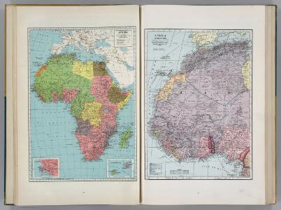 Africa.  Africa (Northwestern Part).