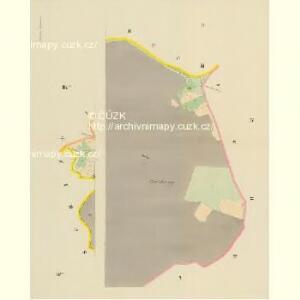 Mallechau (Mallechow) - c4396-1-002 - Kaiserpflichtexemplar der Landkarten des stabilen Katasters