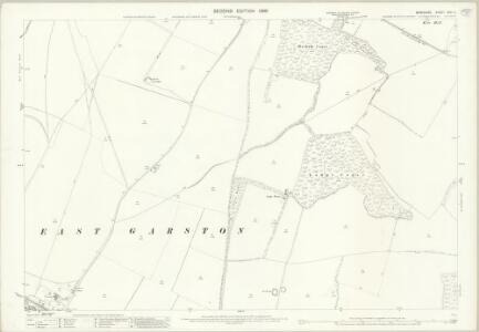 Berkshire XXVI.5 (includes: East Garston; Fawley; West Shefford) - 25 Inch Map