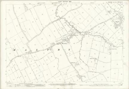 Yorkshire XVI.13 (includes: Maltby; Stainton) - 25 Inch Map