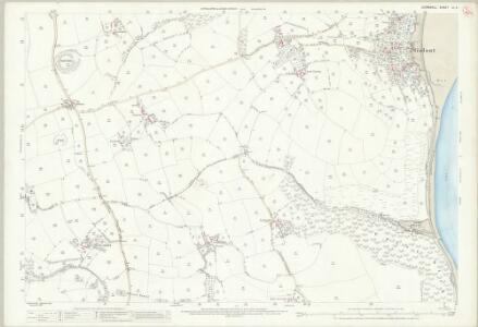 Cornwall LI.4 (includes: Fowey; Lanteglos; St Sampson; St Veep; Tywardreath) - 25 Inch Map
