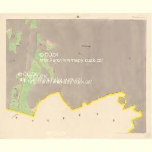 Prachatitz (Prachatice) - c6076-1-009 - Kaiserpflichtexemplar der Landkarten des stabilen Katasters