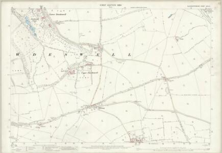Gloucestershire XXVII.14 (includes: Dowdeswell; Whittington; Withington) - 25 Inch Map