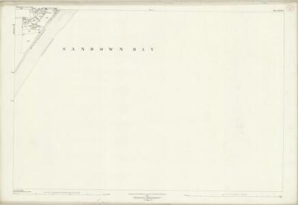 Hampshire and Isle of Wight XCIX.2 (includes: Sandown Shanklin) - 25 Inch Map