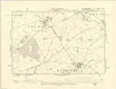 Huntingdonshire XII.NE - OS Six-Inch Map