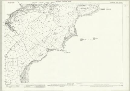 Devon CXXVIII.3 (includes: Brixham) - 25 Inch Map