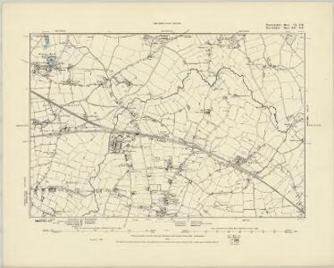 Worcestershire V.NW - OS Six-Inch Map