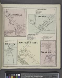 Bloodville [Village]; Bloodville Business Directory. ; Rock City Falls Business Directory. ; Rock City [Village]; Gansevoort Business Directory. ; Gansevoort [Village]; Vischers Ferry Business Directory. ; Vischers Ferry [Village]; West Milton Business D
