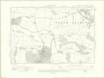 Yorkshire CXLII.NE - OS Six-Inch Map