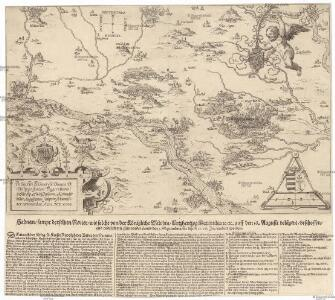 Haduan sampt derselben Revier wie solche von der königliche Würdin Ertzhertzog Maximiian u. auff den 16. Augusti belaegert beschossen und endtlich mit stürmender hand den 3. Septembris in disem 1596. Jar erobert worden