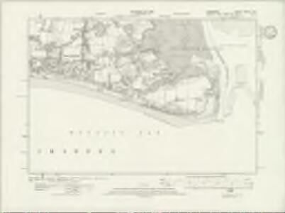 Hampshire & Isle of Wight LXXXIV.SE - OS Six-Inch Map
