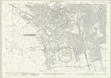 Lincolnshire XXII.11 (includes: Grimsby) - 25 Inch Map