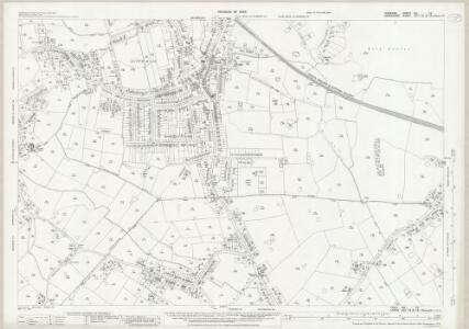 Cheshire XIX.15 (includes: Cheadle and Gatley; Hazel Grove and Bramhall; Poynton with Worth) - 25 Inch Map
