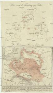Polen nach der Theilung im Jahre 1815, 1793, 1795 ; Die Theilung von Polen im Jahre 1772