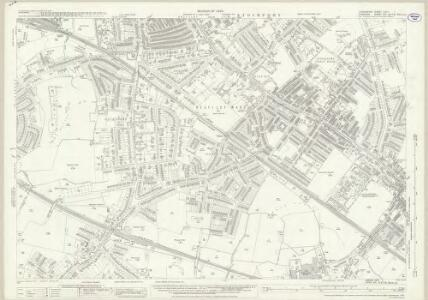 Lancashire CXIIA.1 (includes: Cheadle And Gatley; Hazel Grove And Bramhall; Stockport) - 25 Inch Map