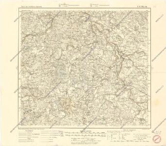 Karte des westlichen Russlands K16