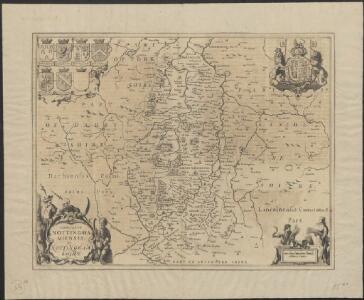 Comitatus Nottinghamiensis, sive Nottingham Shire