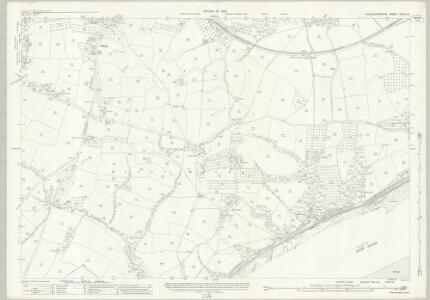 Gloucestershire XXXIX.16 (includes: Awre; Hinton; Lydney; West Dean) - 25 Inch Map