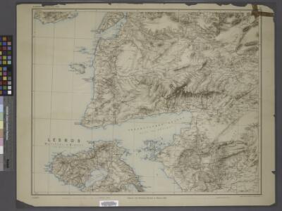 Sheet 4. 1: 250,000. / dressée par Henri Kiepert d'après ses propres observations et d'autres levées pour la plupart inédites = Map of the western part of Asia Minor