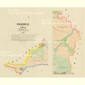 Domoras - c1439-1-001 - Kaiserpflichtexemplar der Landkarten des stabilen Katasters