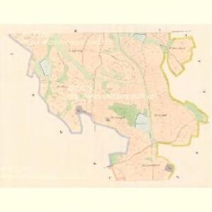 Hinter Zborowitz - c9032-1-003 - Kaiserpflichtexemplar der Landkarten des stabilen Katasters