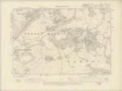Yorkshire CCXCVIII.NE - OS Six-Inch Map