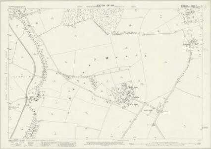 Berkshire V.8 (includes: Appleton with Eaton; Besselsleigh; Cumnor; Northmoor) - 25 Inch Map