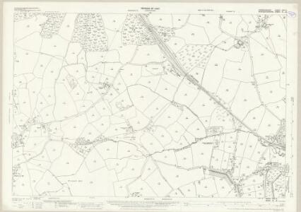 Warwickshire XIXA.9 (includes: Belbroughton; Birmingham; Bromsgrove; Frankley; Romsley) - 25 Inch Map