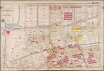 Plate 1: [Bounded by 60th St., Seventh Ave., 67th St., Stewart Ave., 72nd St., Sixth Ave., 75th St., Fourth Ave., 74th St., Third Ave., 73rd St., Second Ave., 72nd St., First ave., 71st St., Narrows Ave., Mackay Pl., Bayridge Pkwy. and Narrows Ave.]; Atlas of the borough of Brooklyn, city of New York: from actual surveys and official plans by George W. and Walter S. Bromley.