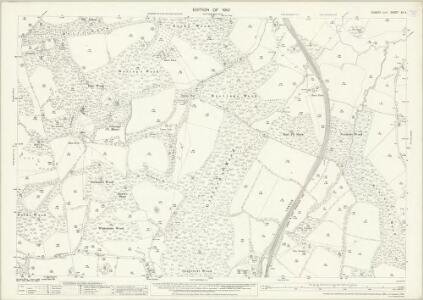 Sussex XV.4 (includes: East Grinstead; West Hoathly) - 25 Inch Map