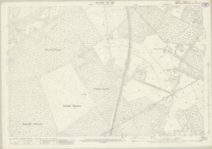 Surrey X.5 (includes: Windlesham; Winkfield) - 25 Inch Map