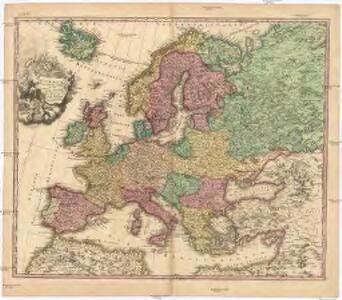 Europa Christiani orbis domina in sua imperia, regna, et status exacte divisa