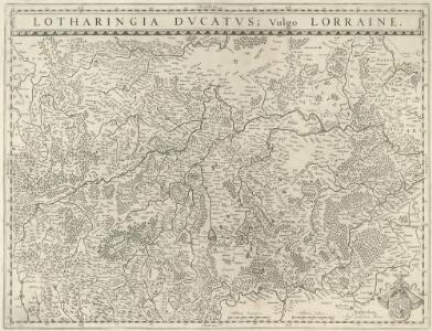 Lotharingia Dvcatvs; Vulgo Lorraine