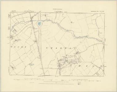Cambridgeshire LII.NE - OS Six-Inch Map